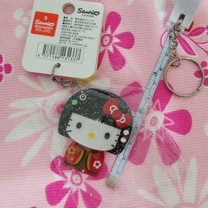 Hello kitty keychain new from japan